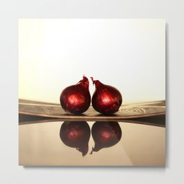 Onions And Reflections  Metal Print