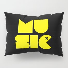 Music Man Rave Quote Pillow Sham