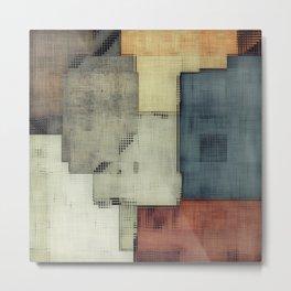 Geometric/Abstract DZ Metal Print