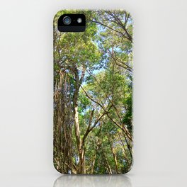 Trees in the Wild iPhone Case