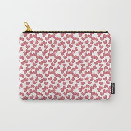 Hearts and Hearts pattern Carry-All Pouch