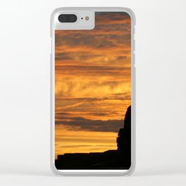 Wandered, lonely Clear iPhone Case