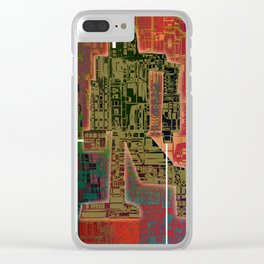Robotic Lab Clear iPhone Case