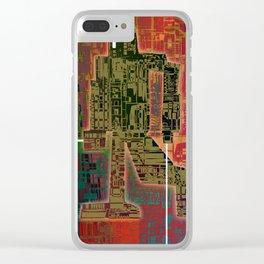 Robotic Lab Clear iPhone Case