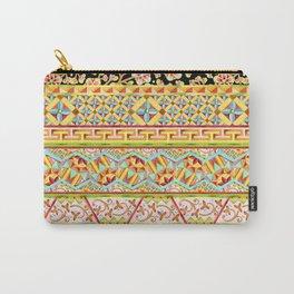 Gypsy Caravan Boho Stripe Carry-All Pouch