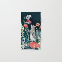 Mushroom garden Hand & Bath Towel