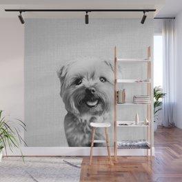 Dog - Black & White Wall Mural