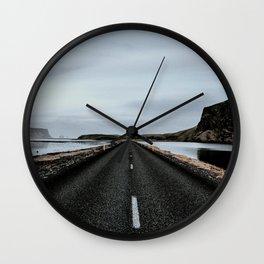 Every road leads to adventure #society6 #buyart Wall Clock