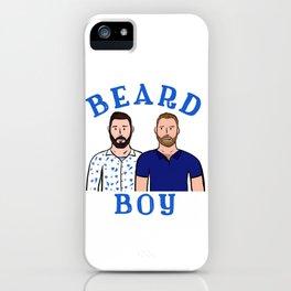 Beard Boy: Karl & Thomas iPhone Case