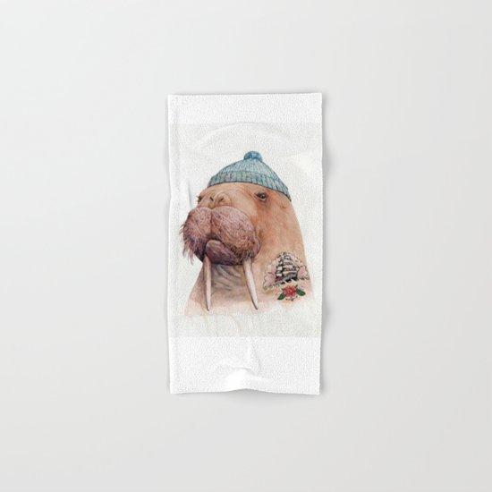 Tattooed Walrus Hand & Bath Towel