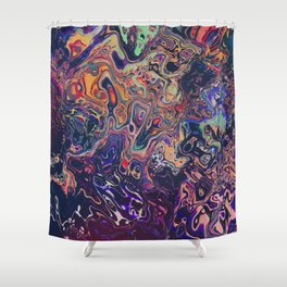 AURADESCENT Shower Curtain