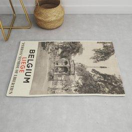 Vintage poster - Liege Rug