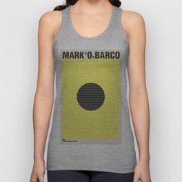 Mark 'O' Barco - India Unisex Tank Top