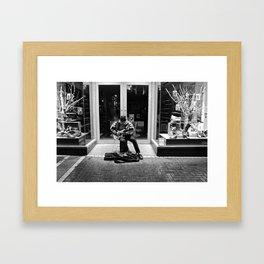 Street Solo Framed Art Print