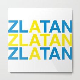 ZLATAN Metal Print