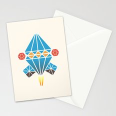 Spacecraft  Stationery Cards