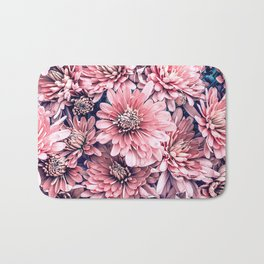 Flower Photography Pink Blossoms Spring Easter Pattern Bath Mat