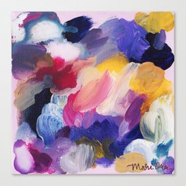Robbie Abstract Painting Canvas Print