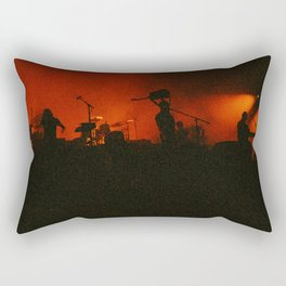 if music had a color it'd be red Rectangular Pillow