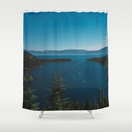 Lake Tahoe VI Shower Curtain