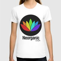 cafe T-shirts featuring Neorganic Cafe by oldi