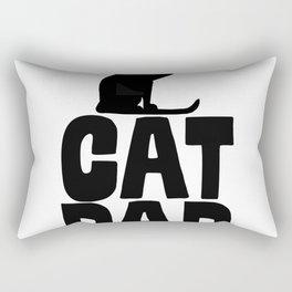 Cat Dad Rectangular Pillow