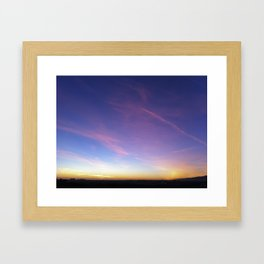 Sky Art Framed Art Print