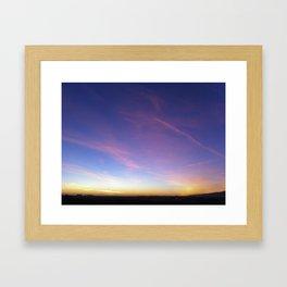 Sky Art Framed Art Print