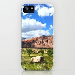 Grassy Field iPhone Case