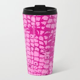 Pink Crocky Wock the Crocodile Travel Mug