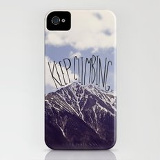 Keep Climbing Slim Case iPhone (4, 4s)