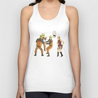 naruto Tank Tops featuring Naruto Science by Solidus