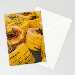 Yellow gathering Stationery Cards