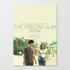 The Spectacular Now Canvas Print