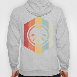 Retro 70s Synthesizer Icon Hoody