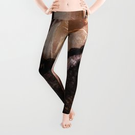 Girl with a whip Leggings