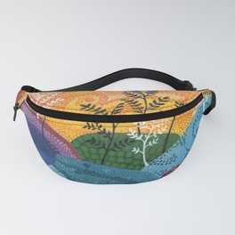 on and on fields Fanny Pack