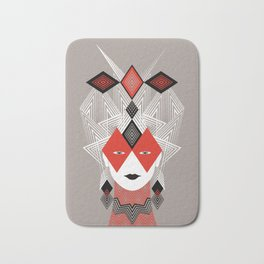 The Queen of diamonds Bath Mat