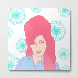 Queen Amy Metal Print