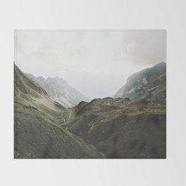 Beam Landscape Photography Throw Blanket