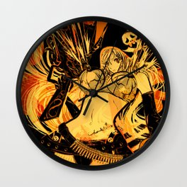 RENT BRA: double-D Wall Clock