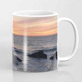 Sunset over Putsborough Coffee Mug