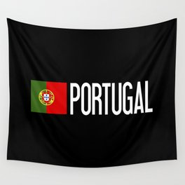 Portugal: Portuguese Flag & Portugal Wall Tapestry