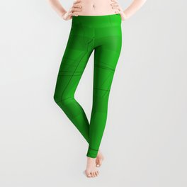Green Modern Background Leggings