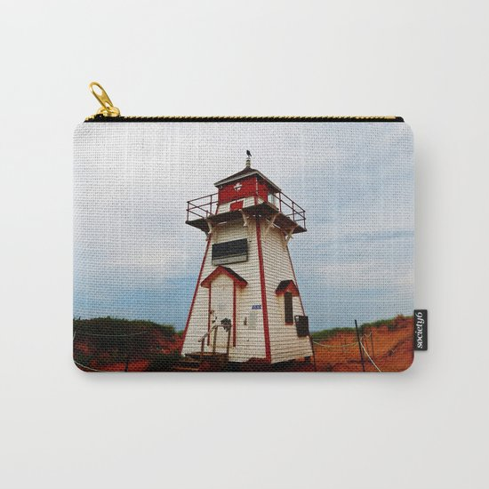 Crow on the Lighthouse Carry-All Pouch