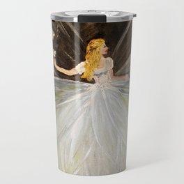 Golden Butterfly Fairy Travel Mug