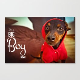 Big Boy Canvas Print