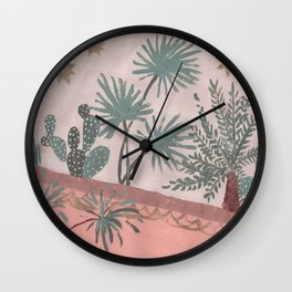 Reclining in the Riad Wall Clock