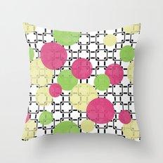 Fashion trends , polka dot Throw Pillow