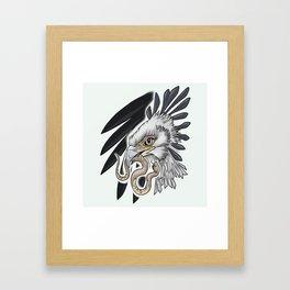 Secretary Bird Framed Art Print